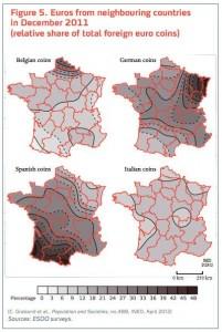 procedencia de euros en Francia