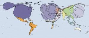 Cartograma PIB
